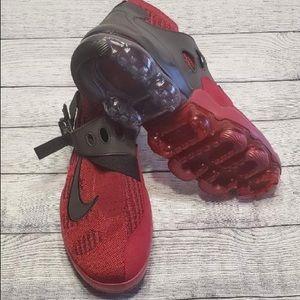 Nike Vapormax Premier Flyknit Red Black AO3241 600